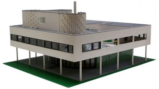 Ville Savoye em LEGO, © LEGO®