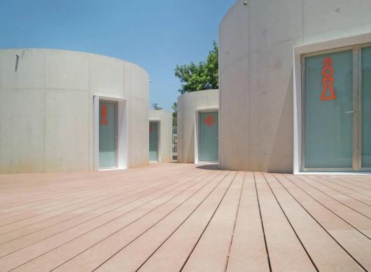 Piscinas de ver o em godella lvarez cubells arquitectos for Piscina de godella
