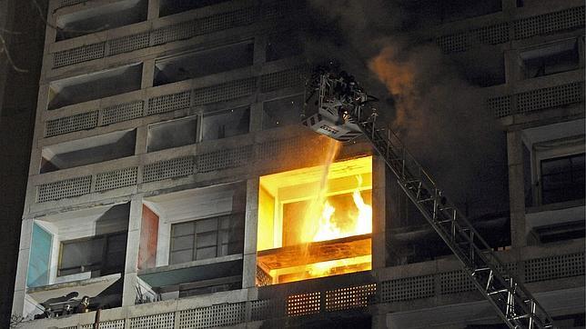 Cité Radieuse de Le Corbusier sofreu um incêndio, ©  AFP