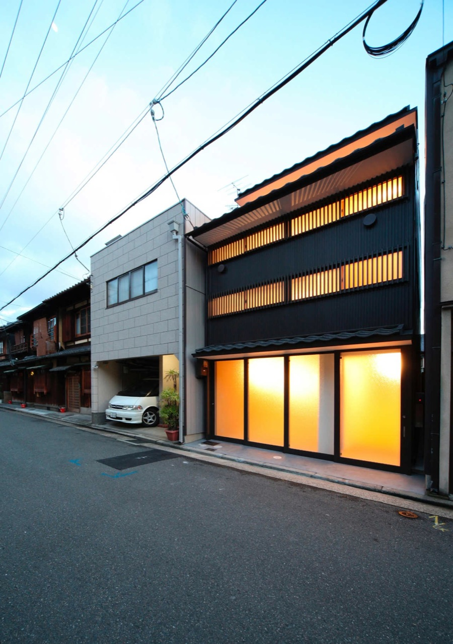 New Kyoto Town House / Alphaville Architects, Cortesia Alphaville Architects