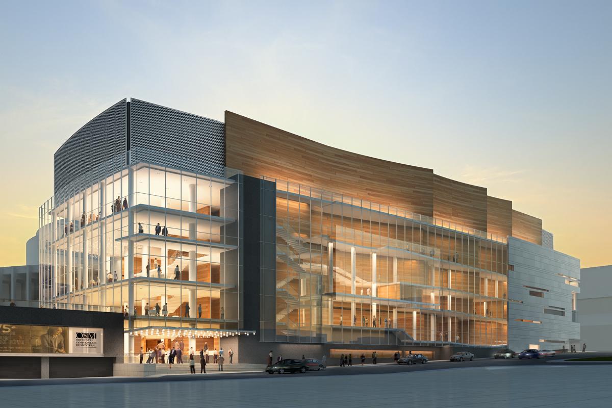 Em construção: La Maison Symphonique de Montréal / Diamond Schmitt Architects   , © Cicada Design