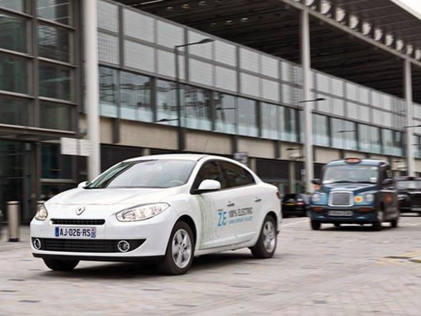 Táxi ecológico para as Olimpíadas de Londres, Divulgação