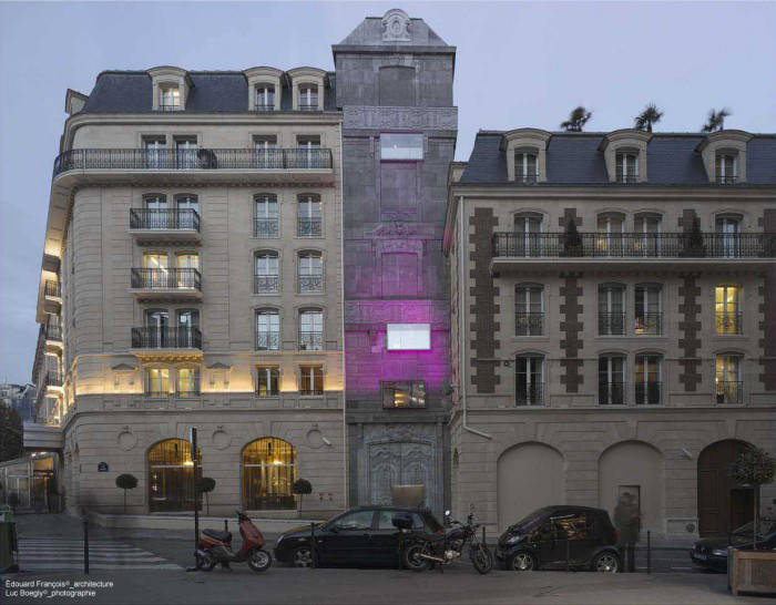 Hotel Fouquet Barrière / Edouard François , ©  Cortesia Edouard François