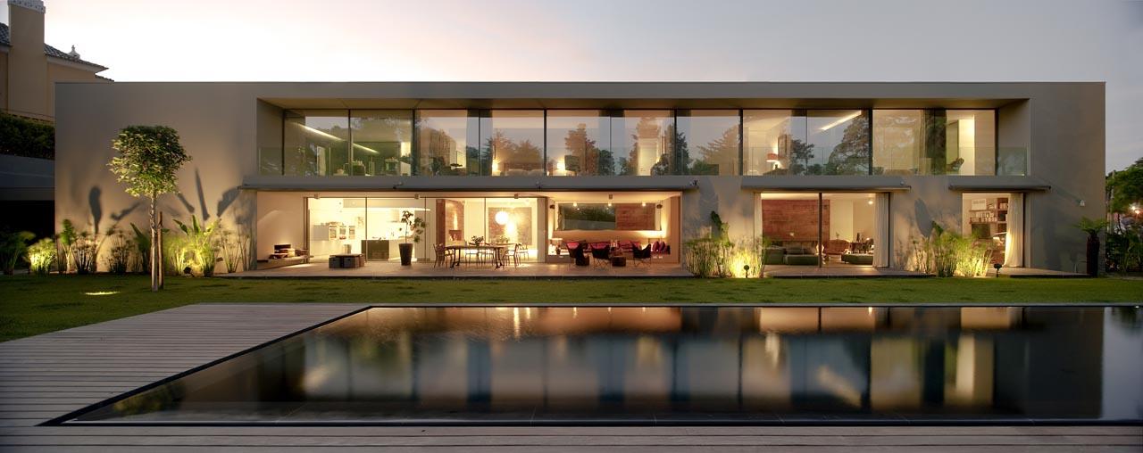 Casa no Estoril / Frederico Valsassina Arquitectos, © FG+SG – Fernando Guerra, Sergio Guerra