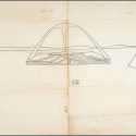 Perspectiva original Arco da Apoteose de Oscar Niemeyer