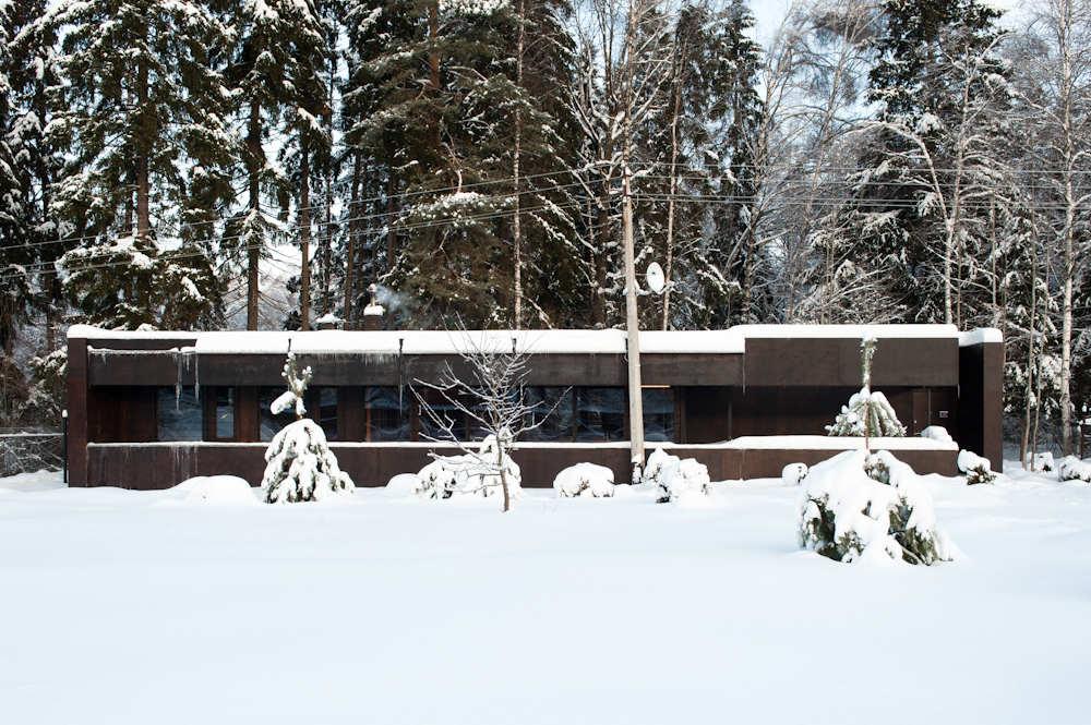 Casa na Região de Moscou / Sergey Nasedkin, © Cortesia Sergey Nasedkin