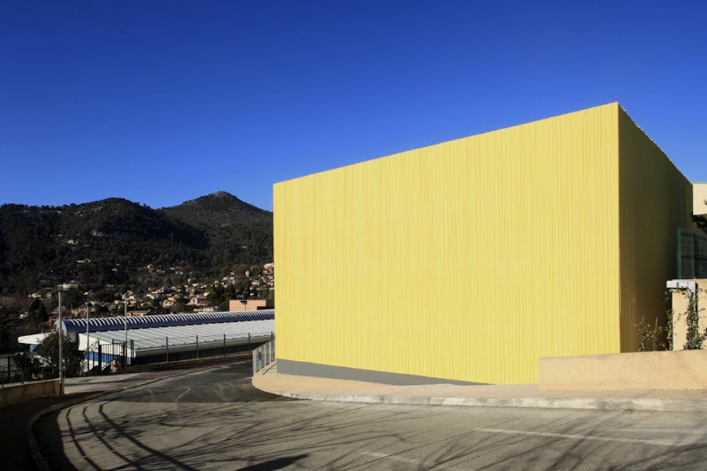 Edifício de Esportes / Heams et Michel, © Serge Demailly