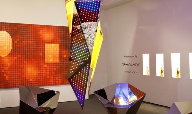 """""""eL Masterpiece"""": A luminária desenhada por Daniel Libeskind, via Artinfo"""