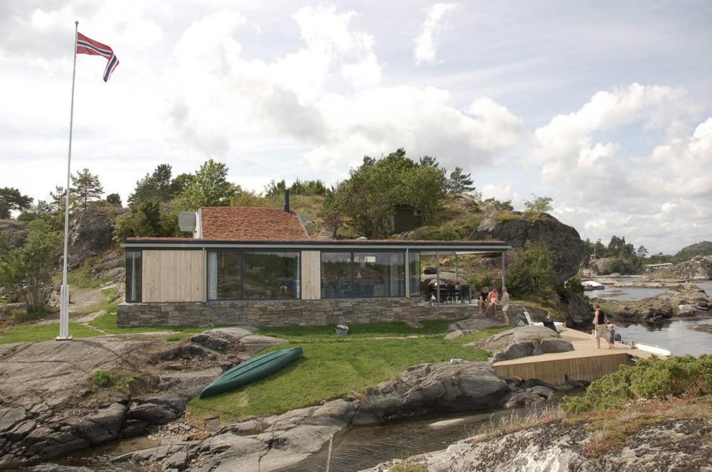 Casa de Veraneio em Skåtøy / Filter Arkitekter AS, © Elisabeth Hudson