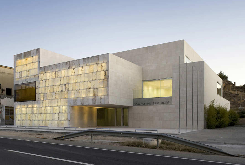 Sede da Comarca do Bajo Martín / Magén Arquitectos, © Pedro Pegenaute