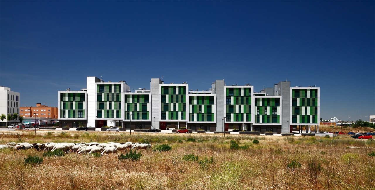 120 Habitações Sociais em Parla / Arquitecnica, © Aitor Estevez Olaizola