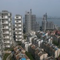 Apartamentos Verticais Courtyard © Lu Wenyu, Cortesia Amateur Architecture Studio