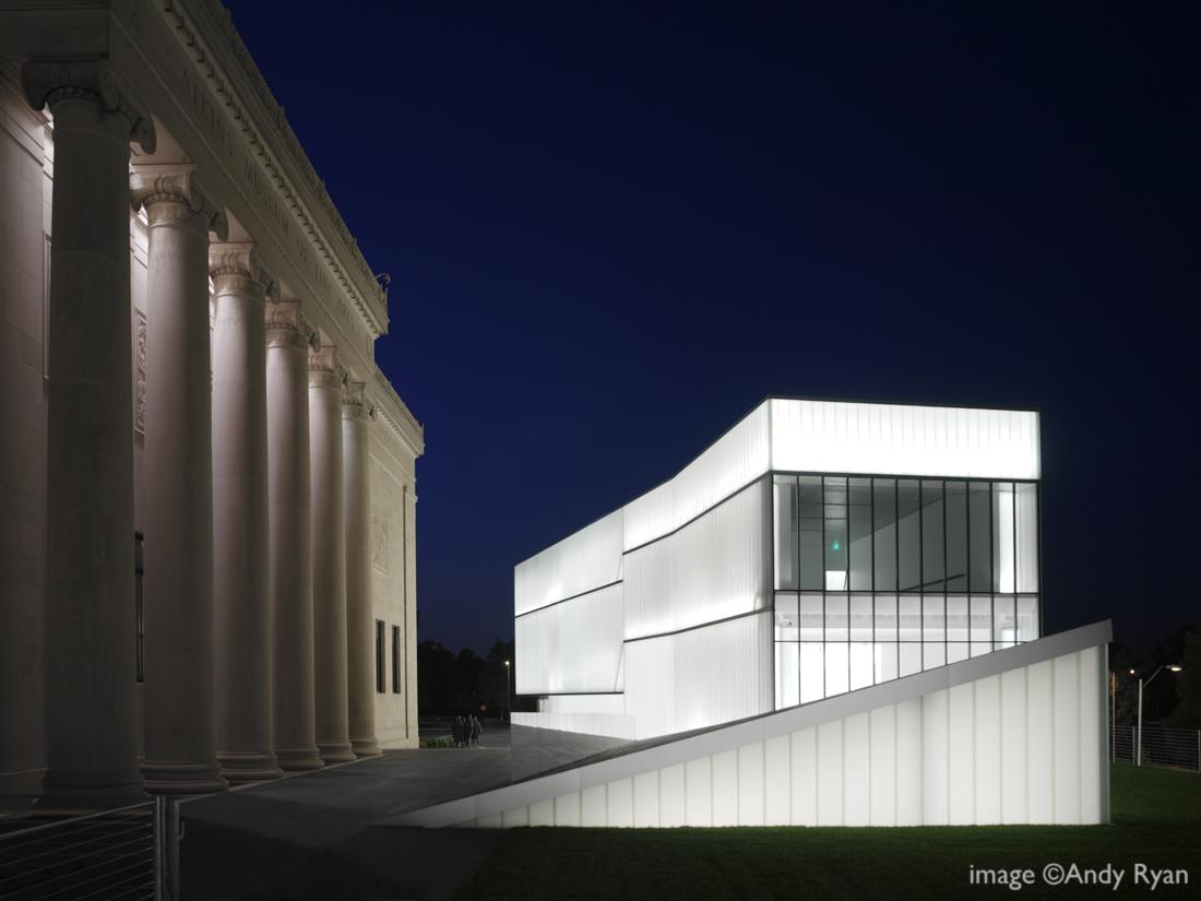 Steven Holl projetará o novo Museu de Belas Artes de Houston (MFAH), Nelson-Atkins Museum © Andy Ryan