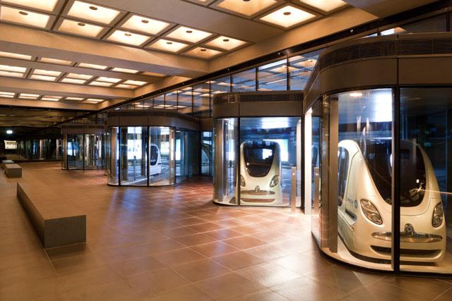 'Personal Rapid Transit', o transporte público que é realidade em Abu Dhabi, © Masdar City