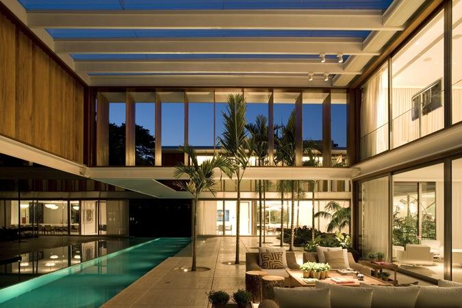 Casa JH / Bernardes + Jacobsen Arquitetura, © Leonardo Finotti