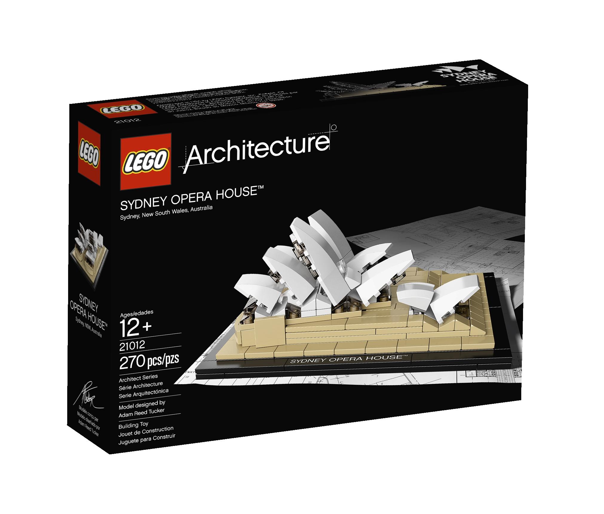 Novo LEGO® Architecture Series: Ópera de Sydney de Jørn Utzon, LEGO®