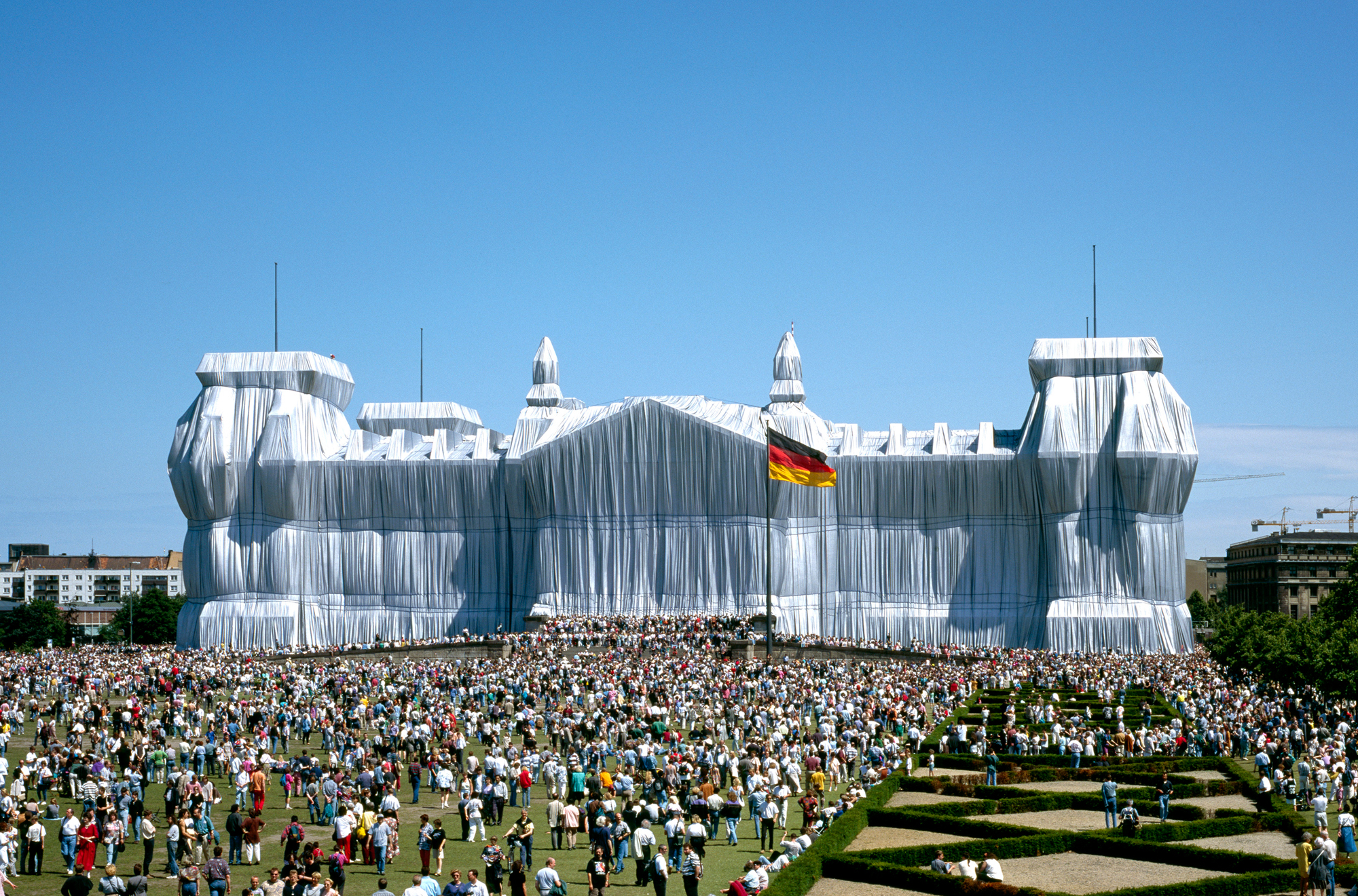 Arte e Arquitetura: Christo and Jeanne-Claude