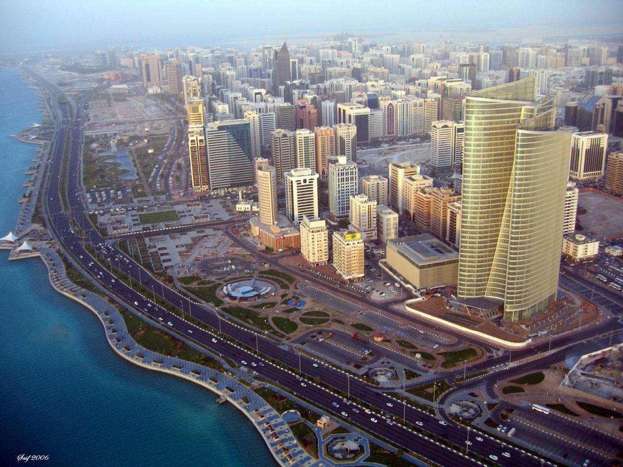 Abu Dhabi: a cidade mais rica do mundo / Postais urbanas, A capital dos Emirados Árabres, com 420 mil habitantes*