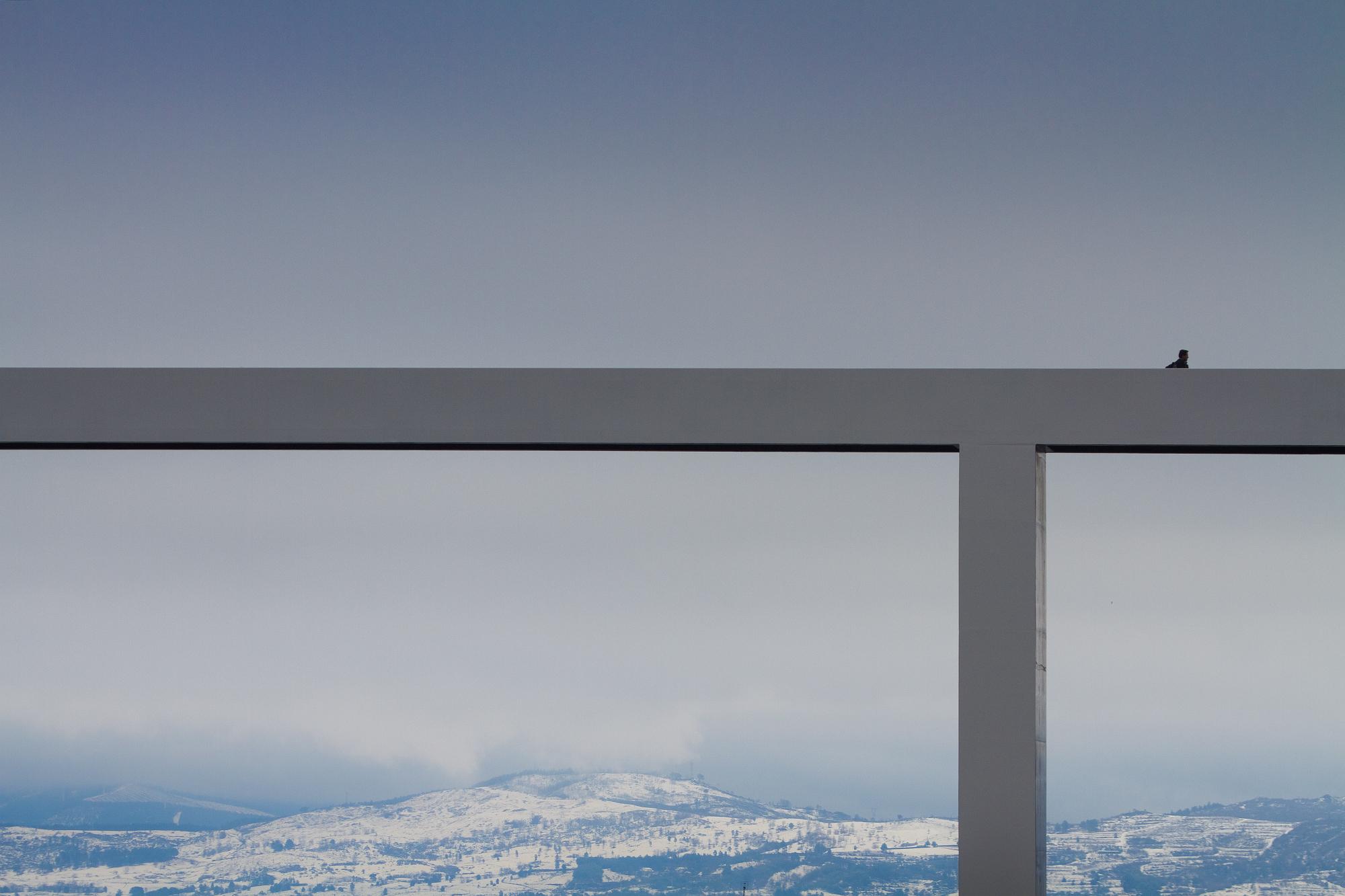 Ponte de pedestres sobre a Ribeira da Carpinteira / Carrilho da Graça Arquitectos, © FG + SG - Fernando Guerra, Sergio Guerra