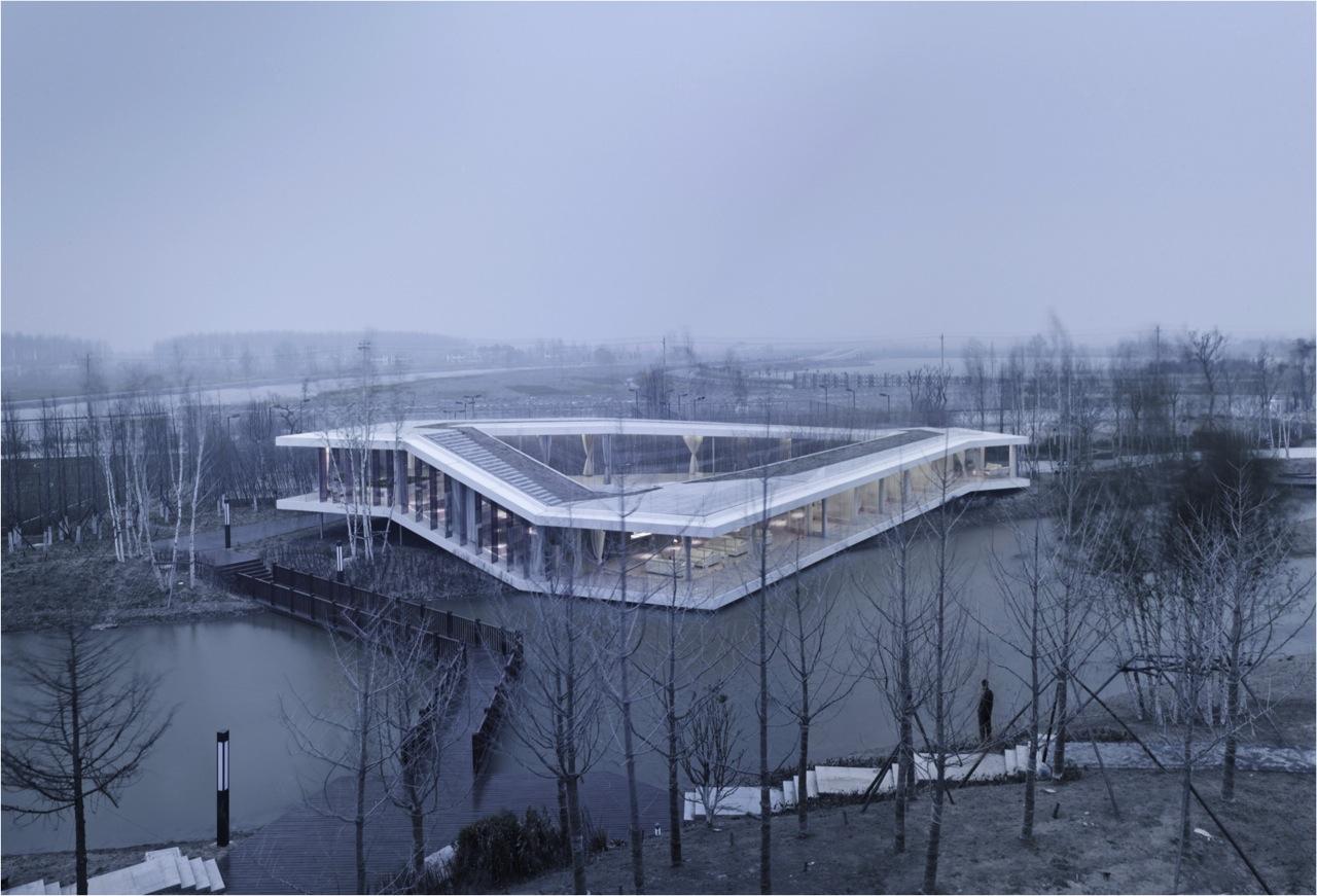 Riverside Clubhouse / TAO , © Yao Li