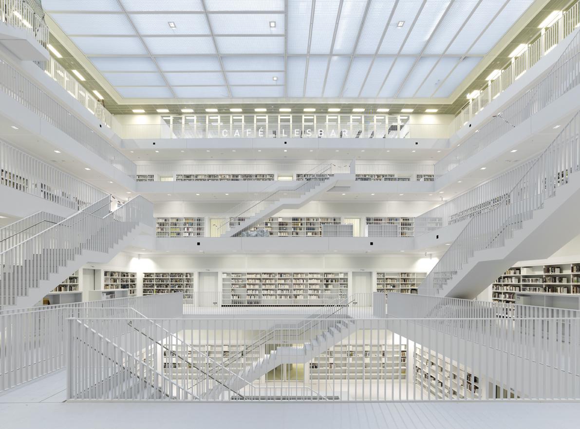 Biblioteca Municipal de Stuttgart / Yi Architects, © Stefan Müller