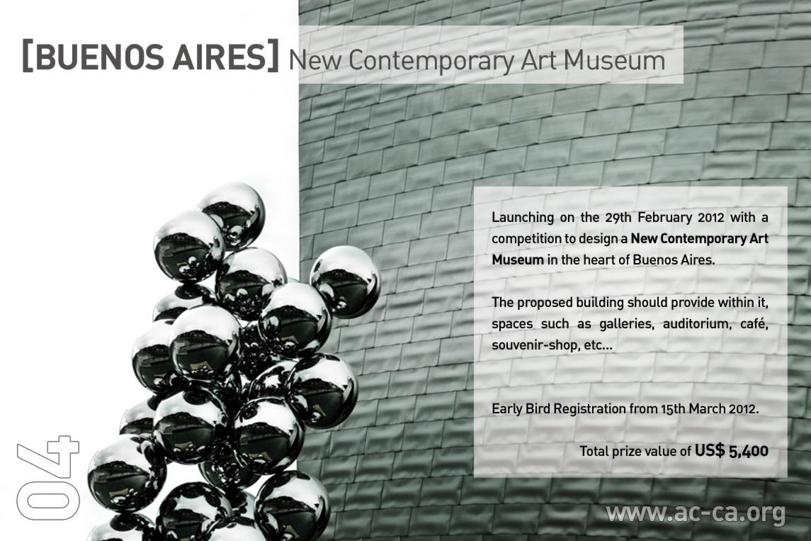 Concurso Internacional de Ideias: Buenos Aires New Contemporary Art Museum