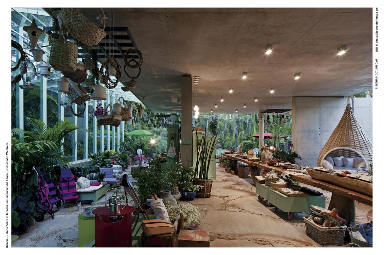 Loja Botânica / Rizoma Arquitetura, © Leonardo Finotti