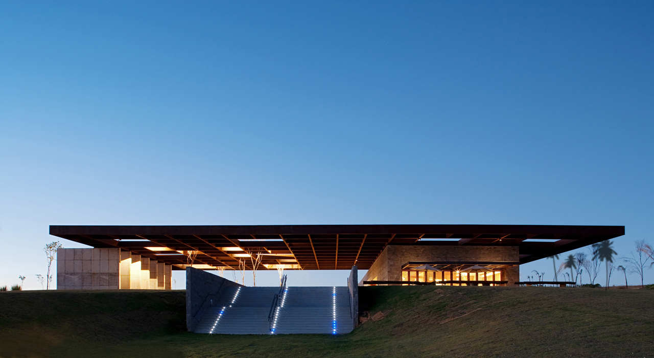 Welcome Center / Rocco Vidal + arquitetos, © Rocco,Vidal + arquitetos