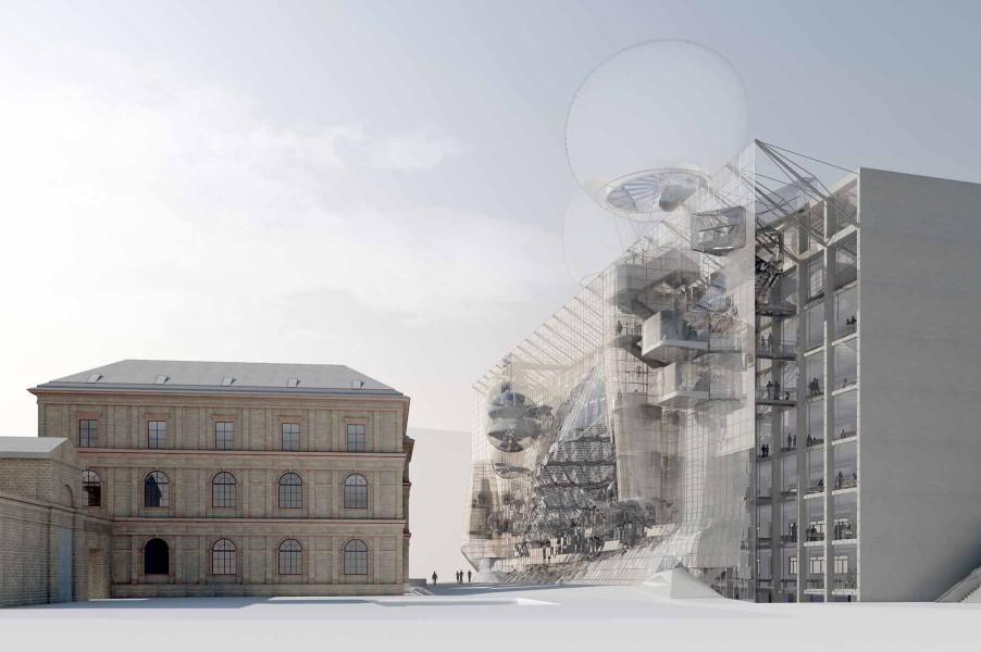 Ampliação da Universidade de Artes em Viena / Wolfgang Tschapeller, © Wolfgang Tschapeller