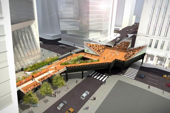High Line New York: São reveladas as imagens da terceira e última seção, © James Corner Field Operations y Diller Scofidio + Renfro