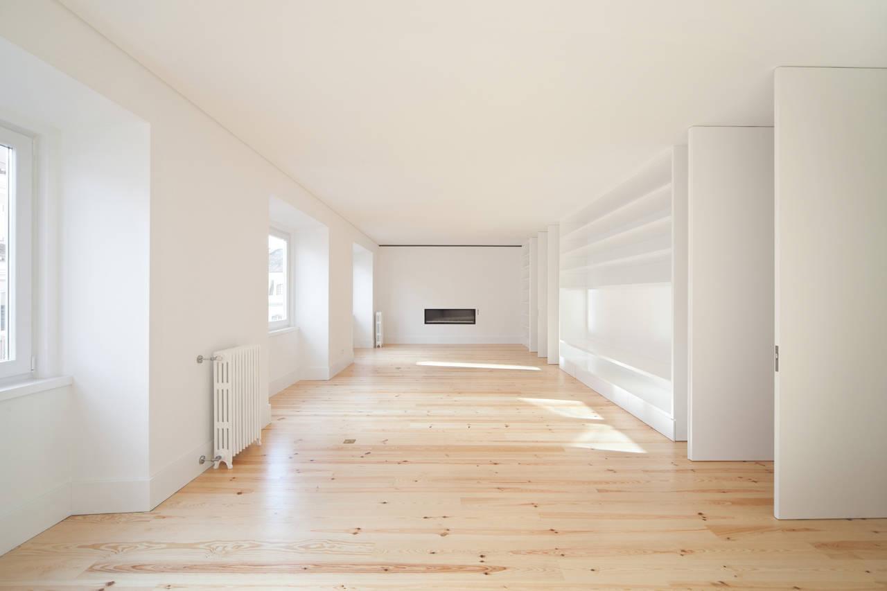 Apartamento na Lapa / Construir Habitar Pensar Arquitectos, © Francisco Nogueira