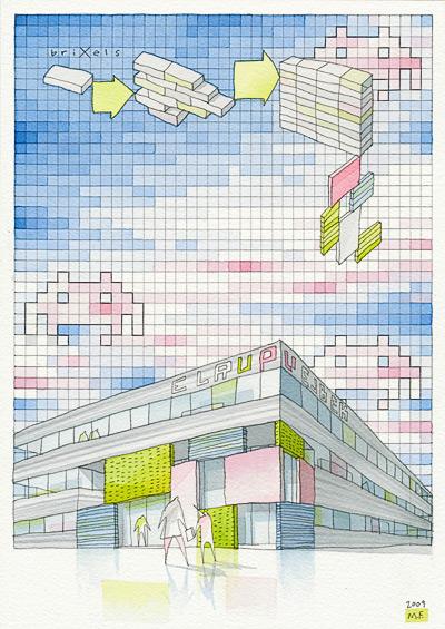 Arte e Arquitetura: Mikkel Frost de CEBRA, © Mikkel Frost