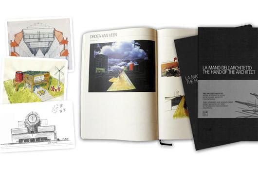 Aplicativo para iPad da Moleskine: 'A mão do arquiteto', imagem via iTunes
