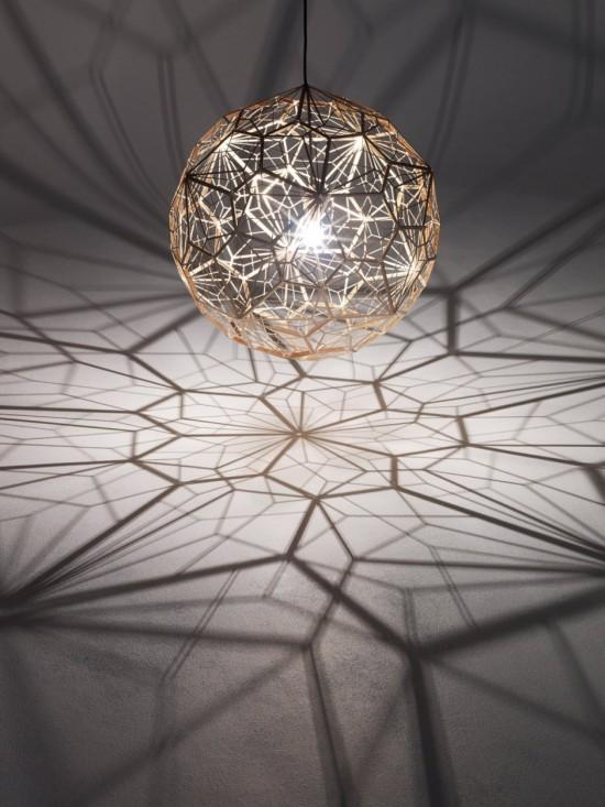 Etch Web: a nova iluminação geométrica de Tom Dixon, Via dsgnr
