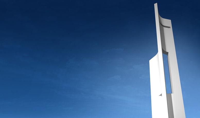 Vídeo: Uma torre esculpida por e para o vento: Eólica / Fran Silvestre Arquitectos, Cortesia de Fran Silvestre Arquitectos
