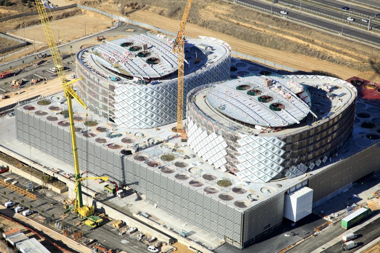 Em construção: Hospital Rey Juan Carlos Móstoles /  Rafael de La-Hoz Arquitectos, © Rafael de La-Hoz Arquitectos