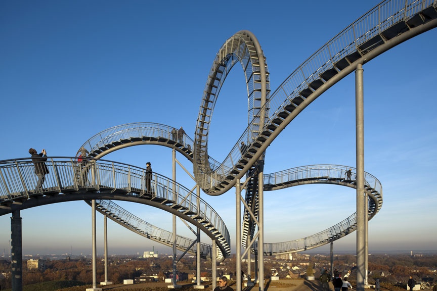 """ Tiger & Turtle – Magic Mountain"" / Heike Mutter + Ulrich Genth, © Thomas Mayer"