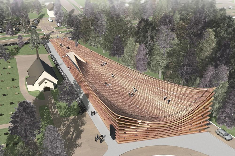 Nova Igreja de Valer / OOIIO Arquitectura, Cortesia de OOIIO