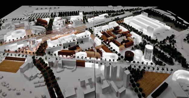 """Plano Diretor para """"Nice Grand Arénas"""" / Josep Lluís Mateo"""