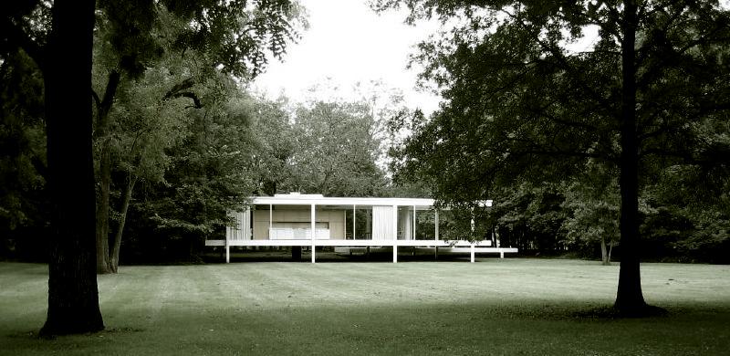 Clássicos da Arquitetura: Casa Farnsworth / Mies van der Rohe, © flickr Tim Brown Architecture