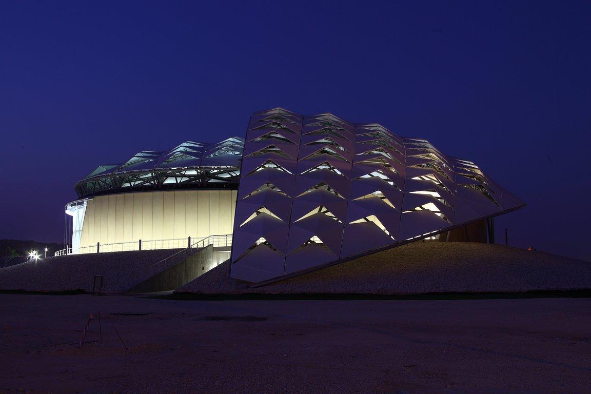 Qatar 2022: É construído o primeiro edifício sustentável rumo à Copa do Mundo, © Arup Associates