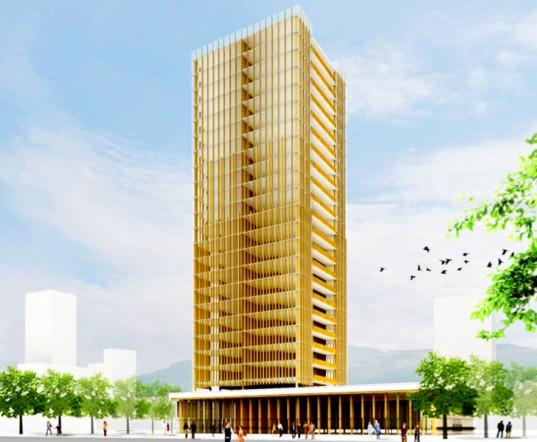 Edifício de madeira mais alto do mundo será construído no Canadá, © Michael Green Architecture