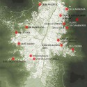 Localização dos projetos