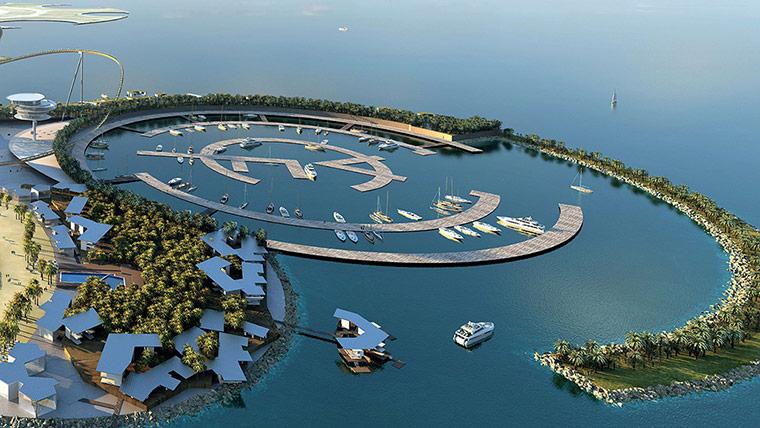 Real Madrid Resort Island será aberto em 2015 nos Emirados Árabes, © Handout/AFP/Getty Images