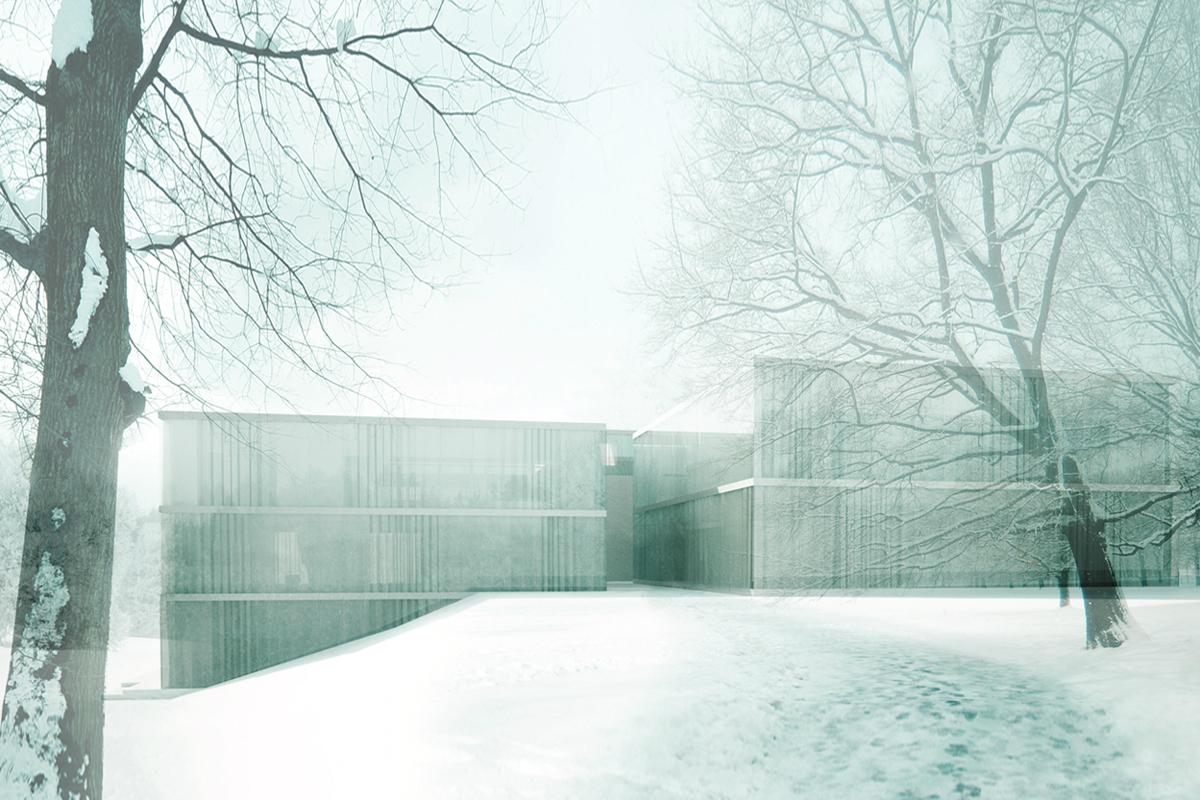 3° Lugar - Concurso Internacional Classic Siftung Weimar - Novo Museu da Bauhaus, Cortesia de BUBE