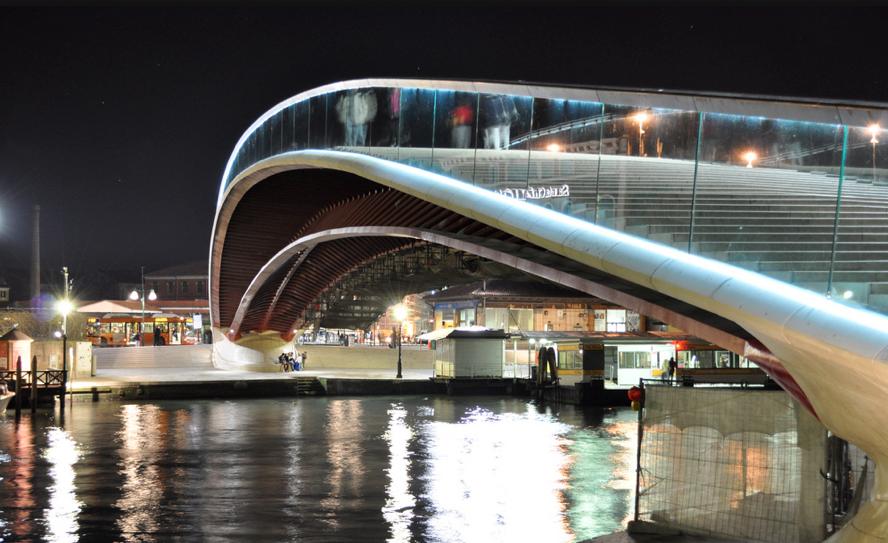 Pedem indenização de 3,4 milhões de euros à Calatrava por Ponte de Veneza , © Flickr: Nextors
