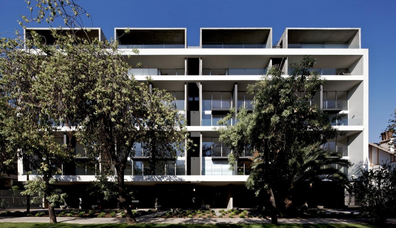 Edifício Mirador Pocuro / SEARLE PUGA arquitectos, © Nico Saieh