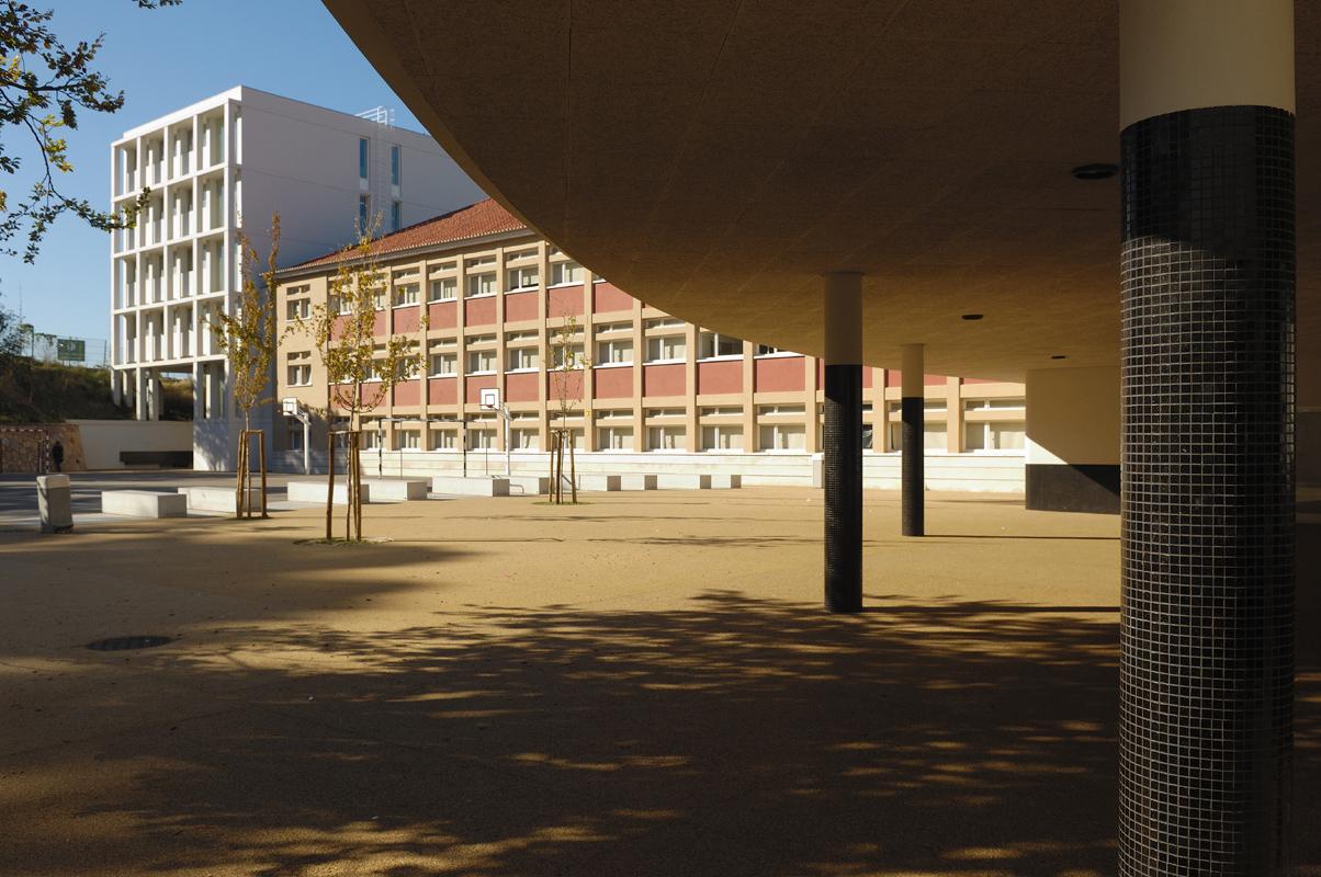 Escola Marquesa de Alorna / José Neves, © Laura Castro Caldas & Paulo Cintra
