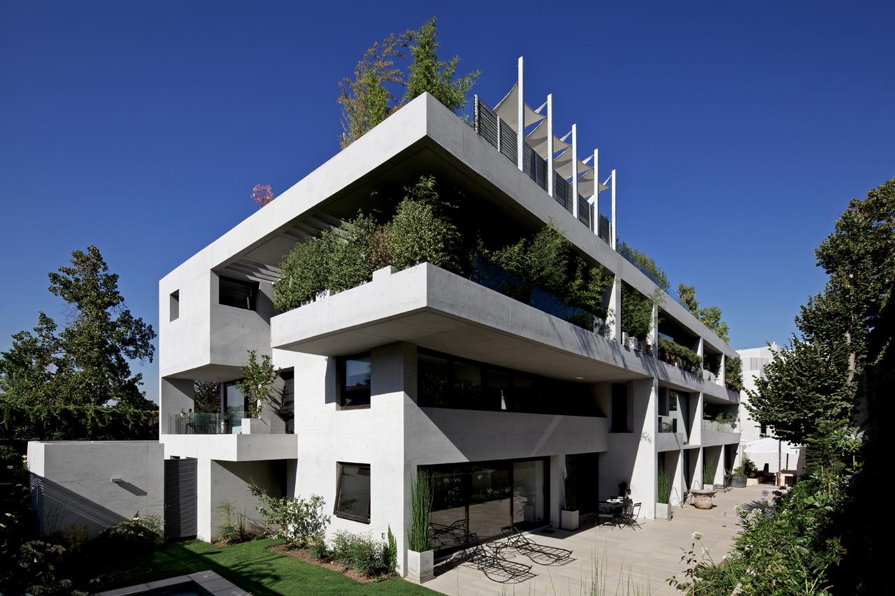 Edifício Ignacia  / Gonzalo Mardones Viviani, © Nico Saieh
