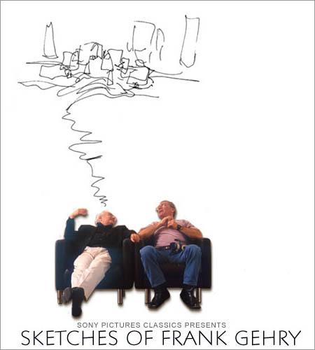 """Cinema e Arquitetura: """"Sketches of Frank Gehry"""""""